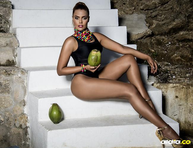 Tahiana Bueno no para de reír y gozarse el momento | Orlando Amador
