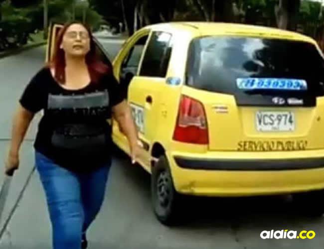 La mujer fue identificada como Amalia Vásquez   Captura de pantalla