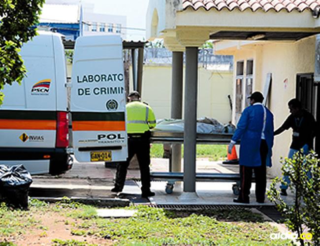 El cuerpo del menor de edad fallecido fue trasladado hasta la morgue de Medicina Legal en Valledupar.   AL DÍA