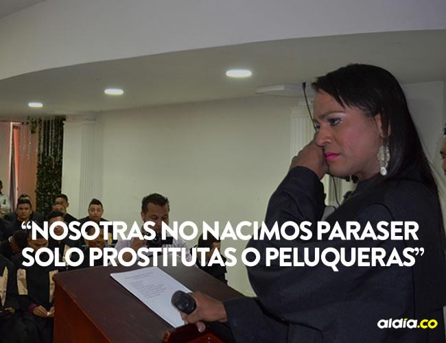 Valeria no pudo contener las lágrimas durante la ceremonia de graduación | Laura Toscano Monterroza