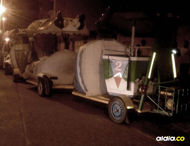 El menor de cinco años murió luego de caer de este vehículo. El hecho se registró el sábado en la noche en Maicao.