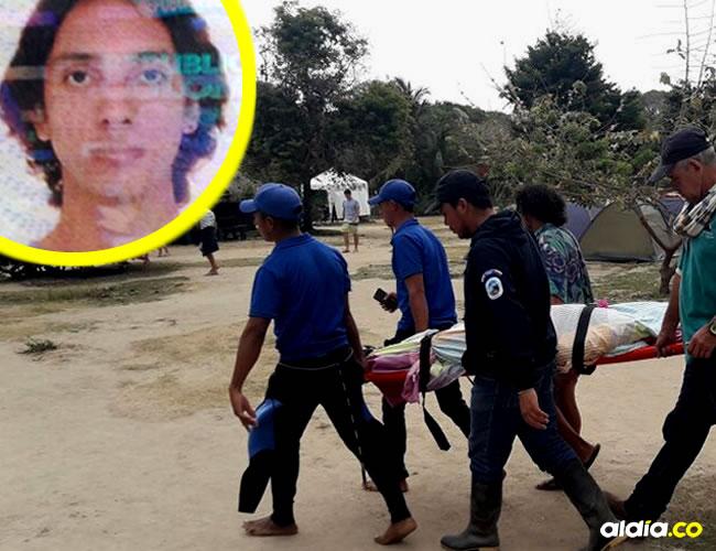 El turista bogotano Camilo Andrés Díaz Morales, de 30 años, fue hallado muerto en la mañana de ayer en uno de los baños de Cabo San Juan del Guía, en el parque Tayrona. |  AL DÍA