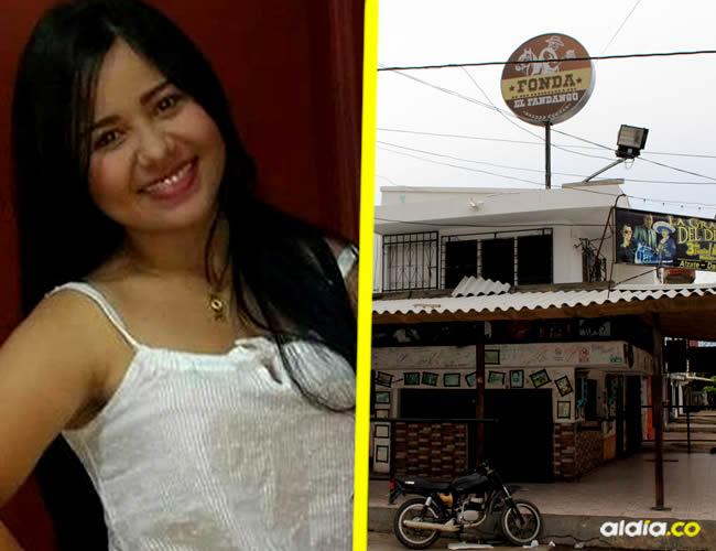 Linda Carolina Oliveros Villa estaba en el establecimiento comercial Fonda Fandango | Cortesía