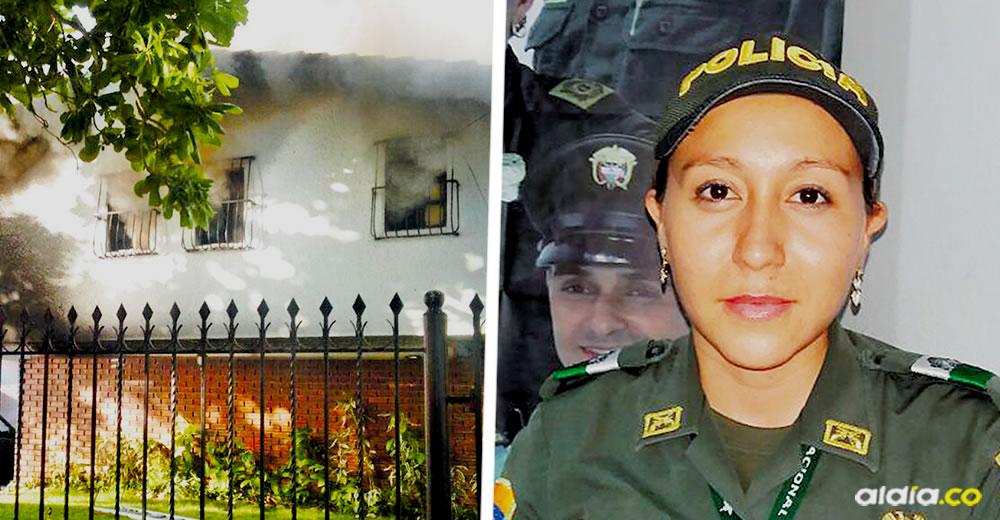 """""""Ella fue a hacer lo correcto que era sacarlos de la casa y logró sacar a los dos abuelitos, para ella y toda la Policía Nacional mi respaldo y mi cariño siempre"""": Alejandro Char"""