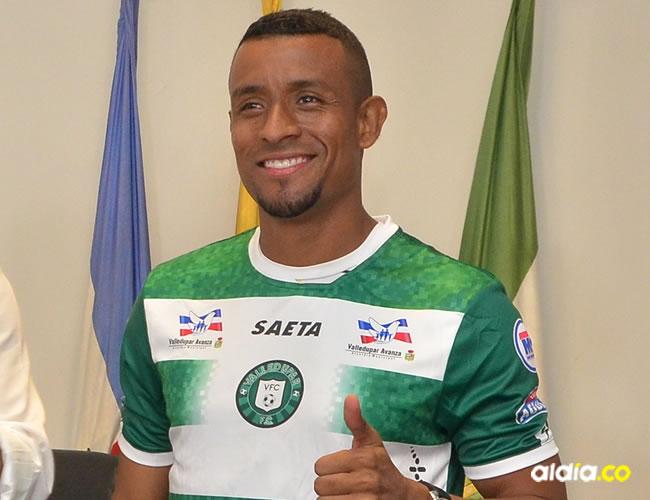 El lateral oriundo de Codazzi, firmó contrato con Valledupar, hasta el 30 de noviembre de este año.