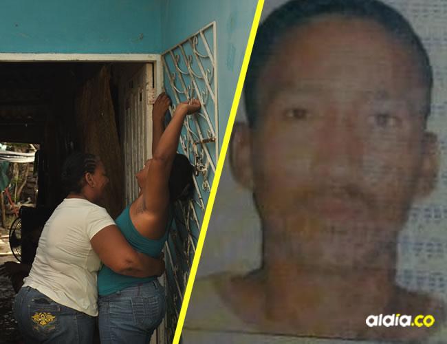 Familiares de Pedro Herrera Castro, de 41 años.