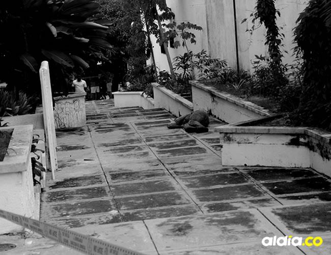 Efectivos del CTI realizaron el levantamiento del cadáver de Edwin José González Medina   Al Día