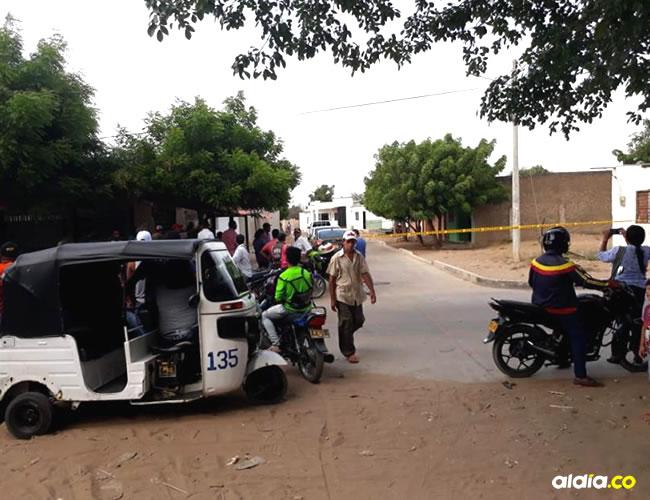 El allanamiento se realizó en la carrera 7 entre calles 2 y 3 del barrio 20 de Julio. | Al Día