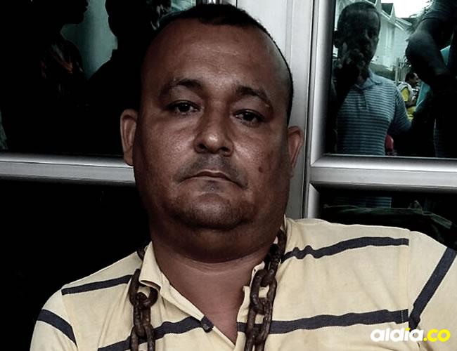 Jorge Andrés Gutiérrez decidió encadenarse en procura de lograr una pronta atención frente al problema que vivió hace 16 años.