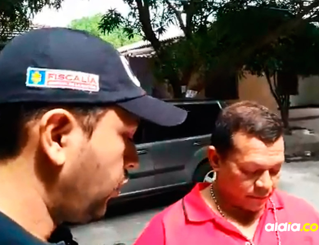 El capturado fue identificado como Manuel Esteban Pinto Jinete. | Cortesía