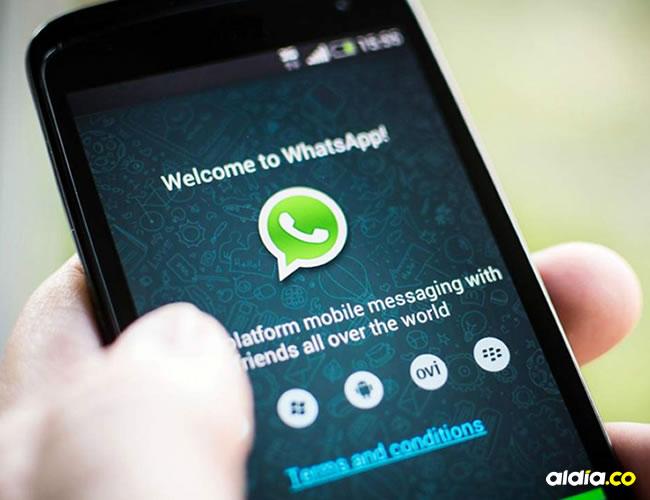 A menudo, la app de mensajería instantánea brinda mayor facilidad a los usuarios. | Cortesía
