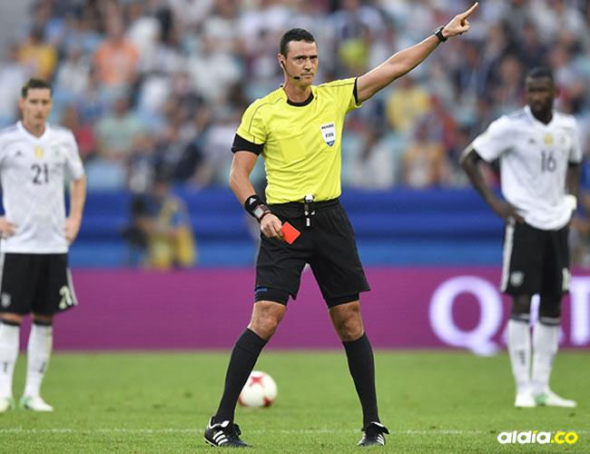 Wilmar Roldán es árbitro Fifa desde el 2008 y pitó dos encuentros en el Mundial de Brasil 2014. | Al Día