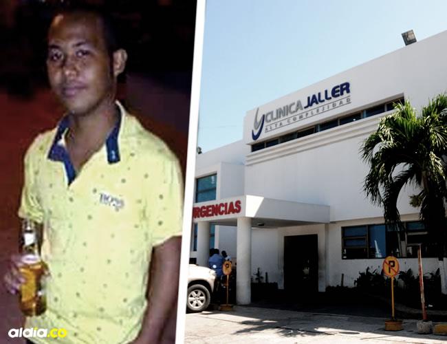En las instalaciones de la Clínica Jaller se produjo el deceso de Jaider. La familia no quiso referirse al hecho | Al Día
