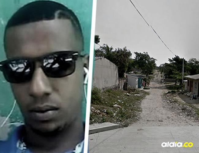 Frank Jiménez chocó en un sector del barrio Ciudad Modesto. | Al Día