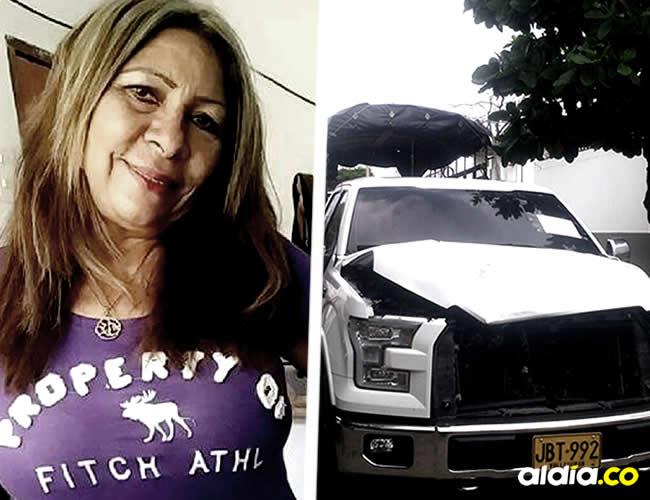 El cuerpo de la mujer quedó en medio de la carretera Troncal del Caribe | Cortesía