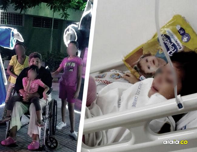 La pequeña junto a su hermana y demás familia disfrutaban las luces navideñas hasta que sufrió el accidente | ALDÍA.CO