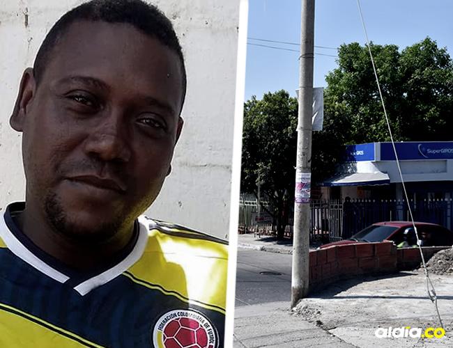 El accidente ocurrió en los límites del barrio San Isidro y Nuevo Bosque en Cartagena | Javier García