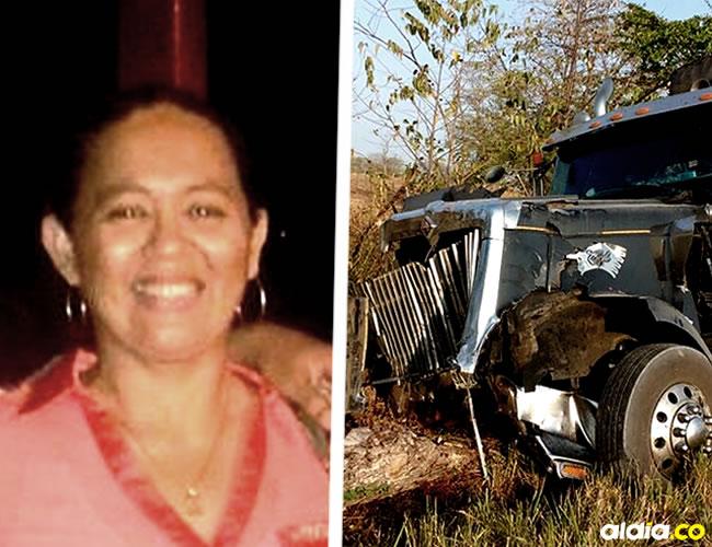 Al parecer el camión presentó una falla mecánica y el conductor no pudo maniobrar el pesado vehículo | ALDÍA