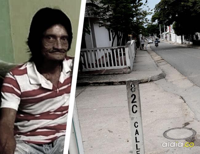 En esta esquina de la calle 82C con carrera 27, barrio Me Quejo, ocurrió la brutal agresión que acabó con la vida de Álvaro Luis Barrios Bernal | Cortesía