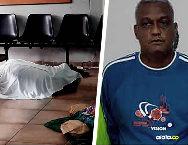 El cuerpo del interno quedó tendido en la sala de espera de la Unidad Renal