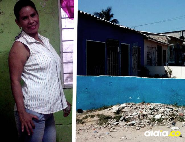 Evelin Isabel Bravo Echeverría, de 32 años, ultimada de un tiro en la cabeza en el barrio La Chinita | Cortesía