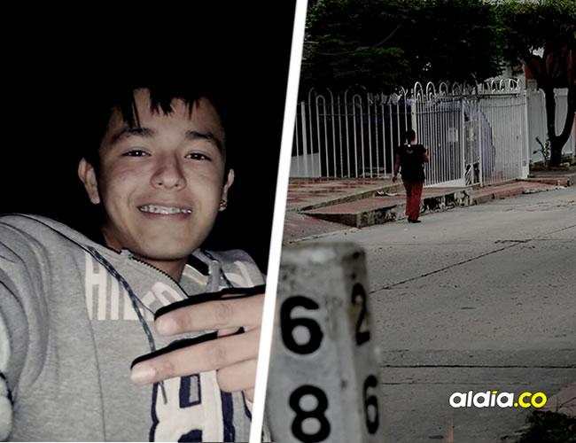 En la carrera 26D entre calles 68A y 68B, barrio San Felipe, quedó tendido el cuerpo sin vida de Fabián Conde, de 21 años.