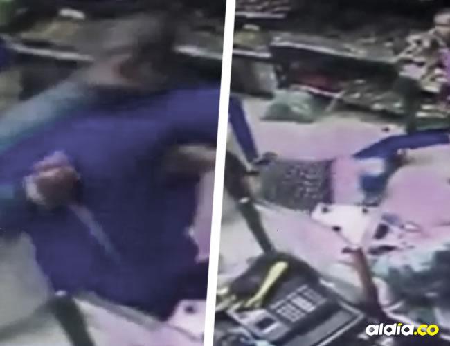 El Policía golpeó, apuñaló y asesinó a su esposa de 24 años frente a un Supermercado | ALDÍA.CO