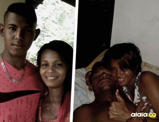 Leonardo Peña en foto de Facebook con Yesenia Ortega y también con su marido, Tomás Peña | ALDÍA.CO