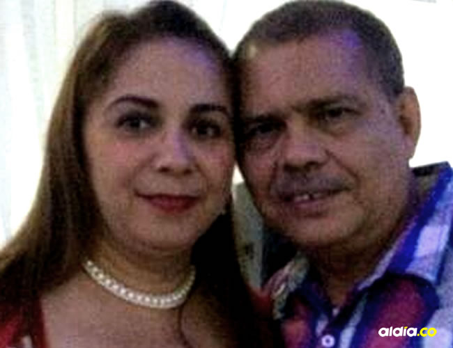 Deisy Vergara Guzmán y su marido Alberto Redondo, en la última foto que esta subió en su perfil de Facebook.