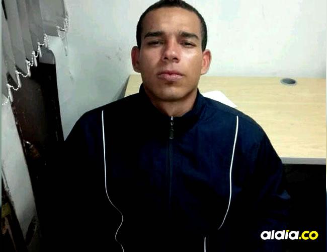 El atracador es Luis Ángel Licona Murcia, 23 años.