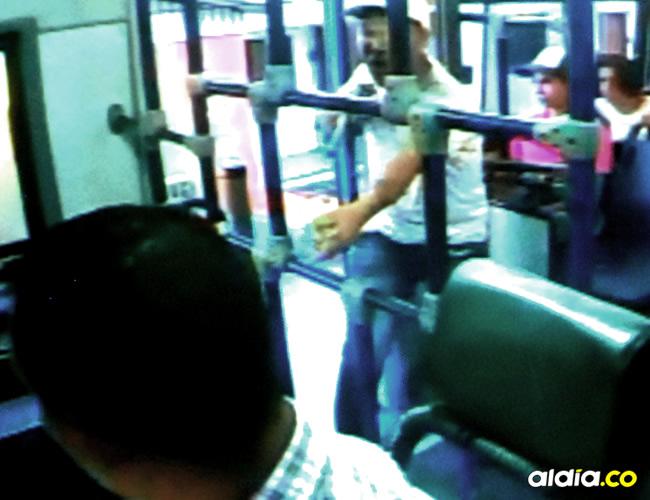 Los buses tienen un botón de pánico para alertar a las autoridades | Luis Felipe De la Hoz