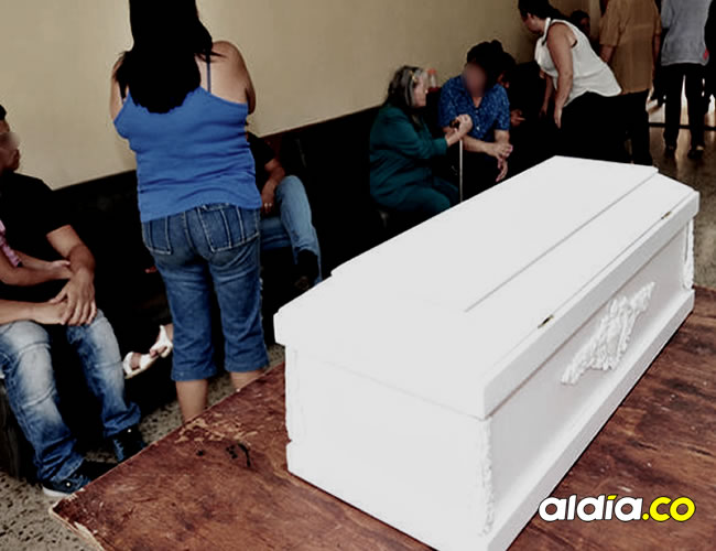 El menor fue retenido por un largo periodo de tiempo en la funeraria   Foto archivo