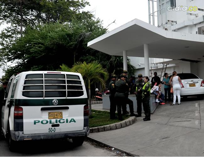 Hasta el Hospital de Bocagrande fue trasladada la pequeña en donde al parecer llegó sin signo vitales | Lorena Henríquez