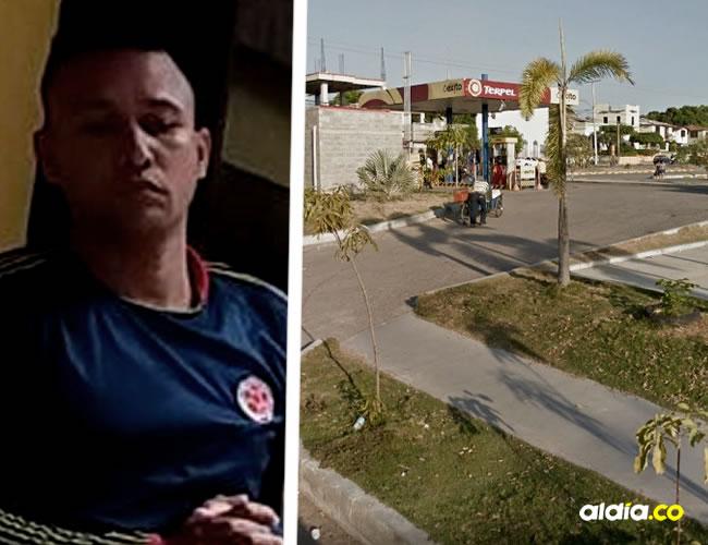 En este lugar citó alias 'Carmerito' a su víctima para que le pagara el dinero de la extorsión y tener sexo anal.