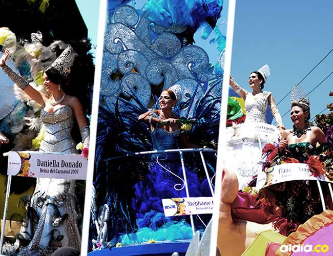 Las exsoberanas revivieron momentos especiales de su reinado a bordo de las carrozas | Luis Felipe De la Hoz