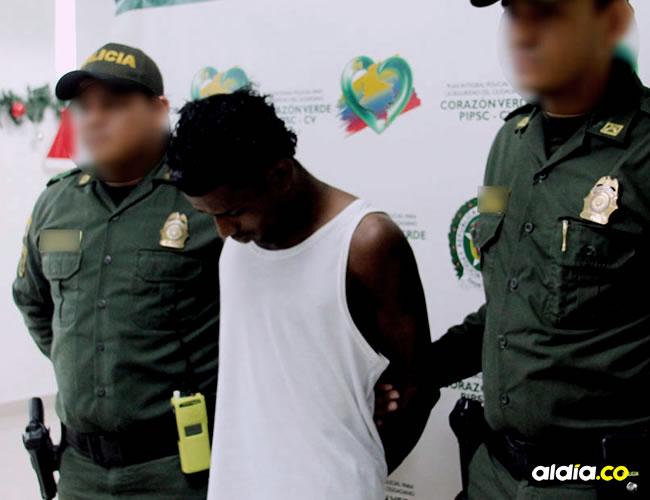 Momento en que se logra la captura y la respectiva judicialización de alias el Chacal, ante un Juez de Control de Garantías que lo envió a la cárcel