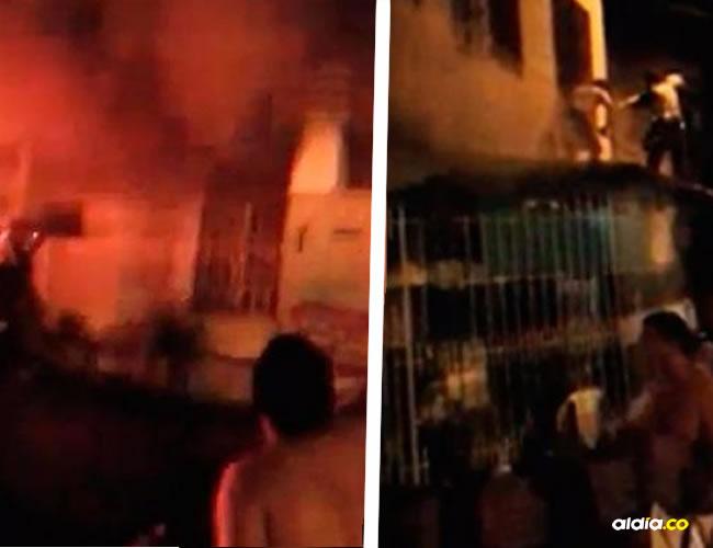 Imágenes tomadas de un video publicado por el diario El País de Cali.
