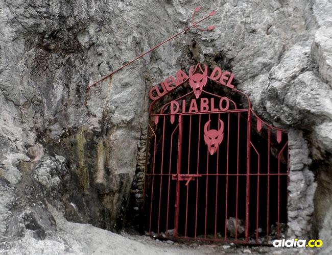 La cueva permanece enrejada para que los turistas no intenten ingresar a ella   Cortesía
