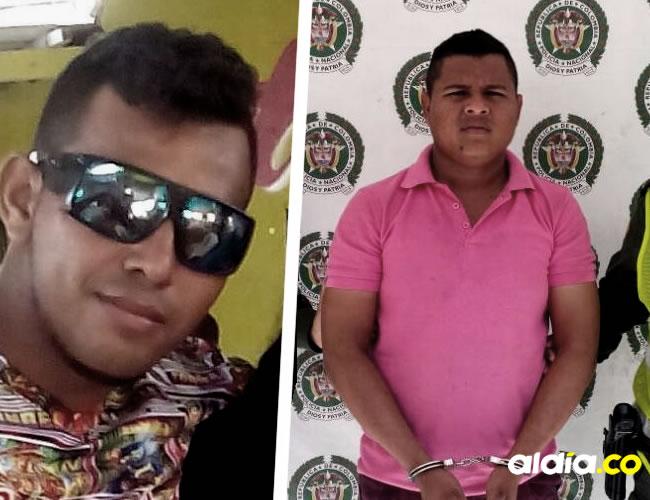 Álvaro Javier Manga Durán fue detenido por la Policía luego que le disparara a Ahumada Carrillo durante una discusión