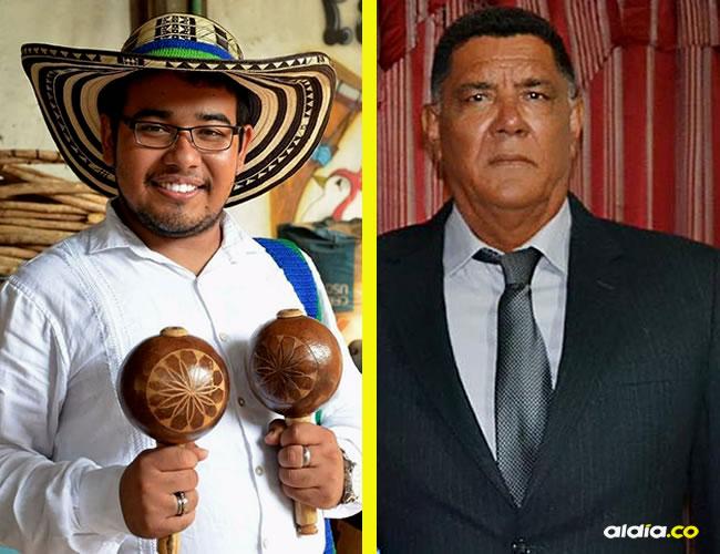 Danny Zora a la derecha. Eduardo Guerrero a la izquierda | AL DÍA.CO