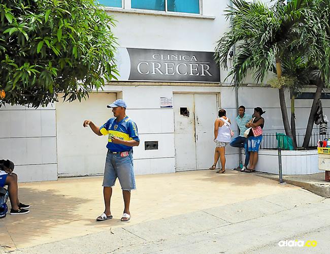 La clínica donde atendieron a Neiver Enrique Moreno Morales   Al DÍA
