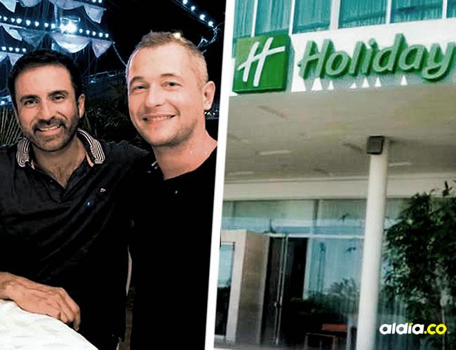 l geretne del hotel William Rodríguez dice que en ningún momento les violaron los derechos a la pareja gay   Cortesía