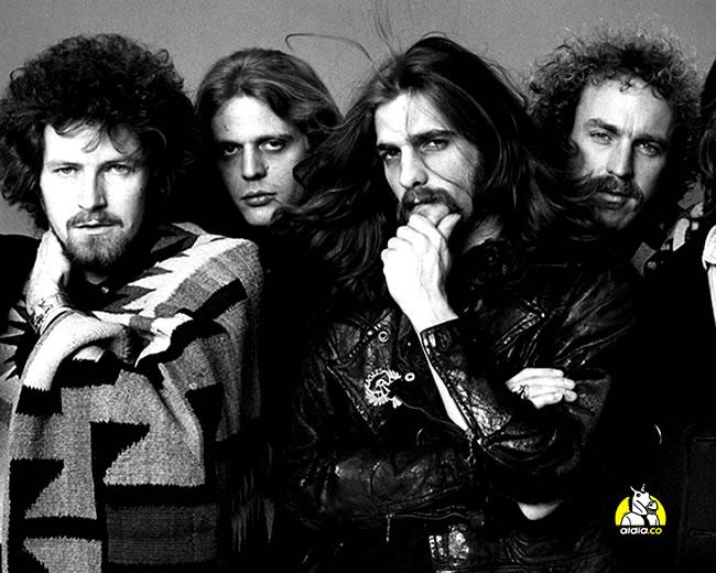 La banda los Eagles, nació en 1971 y solo cinco años después logró la fama con 'Hotel California' | Archivo