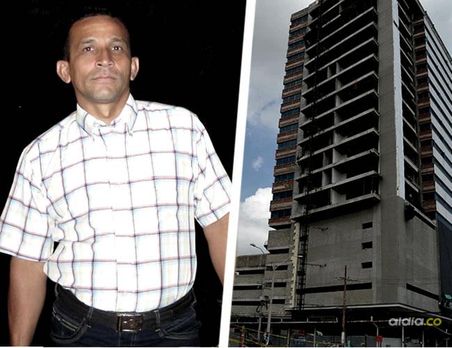 Edwin Alberto Álvarez Munive, de 46 años cayó desde el piso 13 de esta edificación en construcción | Al Día