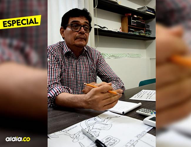 Para Ignacio Consuegra, la caricatura es una forma para expresar lo que no se puede decir con palabras | ALDÍA