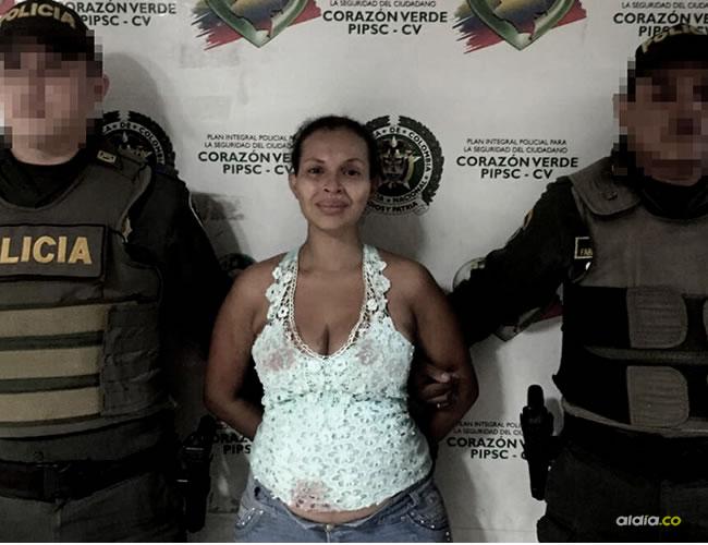 La Policía señala a Leydis Daniela Muñoz Padilla como la responsable de la muerte de su pareja sentimental | Cortesía