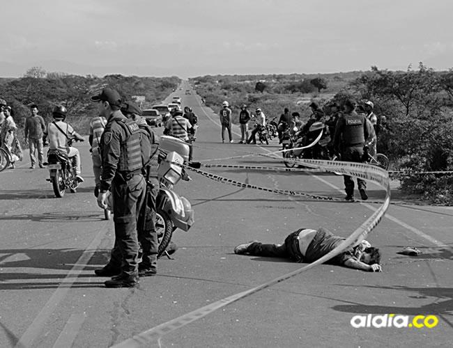 La motocicleta en la que Aurelio se desplazaba en compañía de uno de sus hijos, fue embestida por la parte trasera por un automóvil que circulaba en el mismo sentido | Al Día