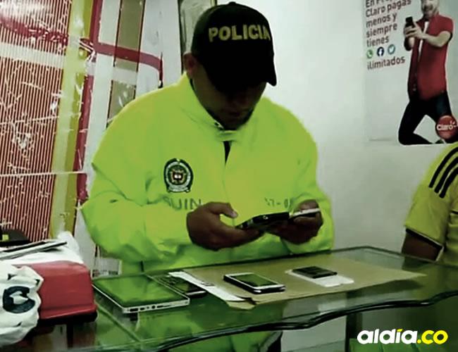 La Policía recuperó 63 celulares reportados como robados, 3 computadores y 1 tablet   ALDÍA