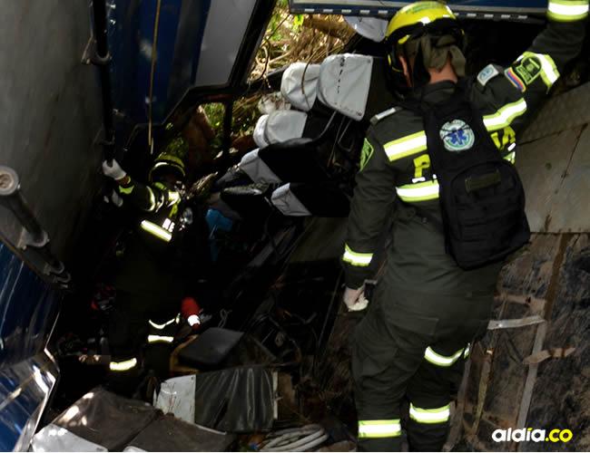 Una de las tres víctimas fatales fue identificada como Andrea Paola Cuentas Martínez, de 23 años, estudiante de comunicación social en la Uniautónoma | Luis Felipe De la Hoz y Josefina Villarreal