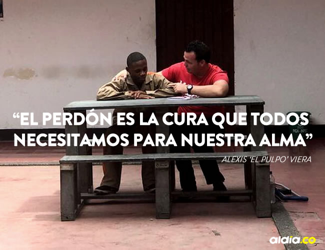 La reunión se dio en el centro penitenciario de Buga, Valle del Cauca   Twitter
